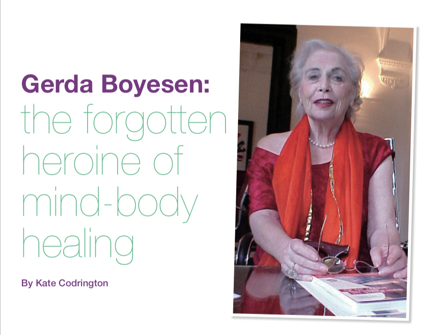 Gerda Boyesen - Massage World