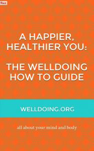 A healthier happier you