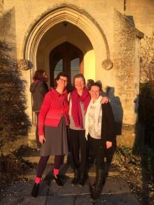Kate, Leora and Alexandra Pope