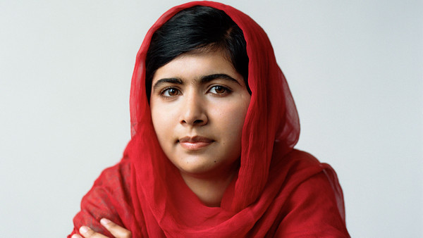 Malala-Yousafzai civil rights activist