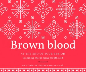 Brown blood