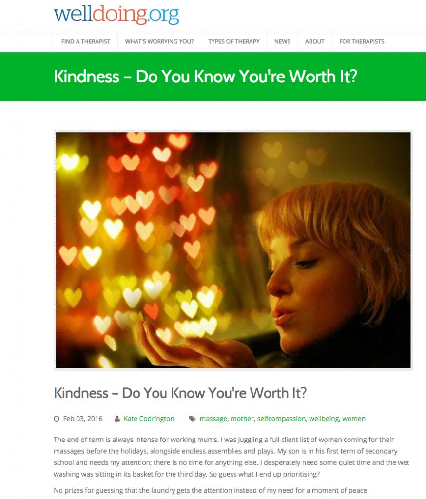 welldoing - kindness